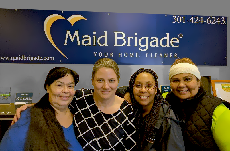 Members of our cleaning company in Olney, MD