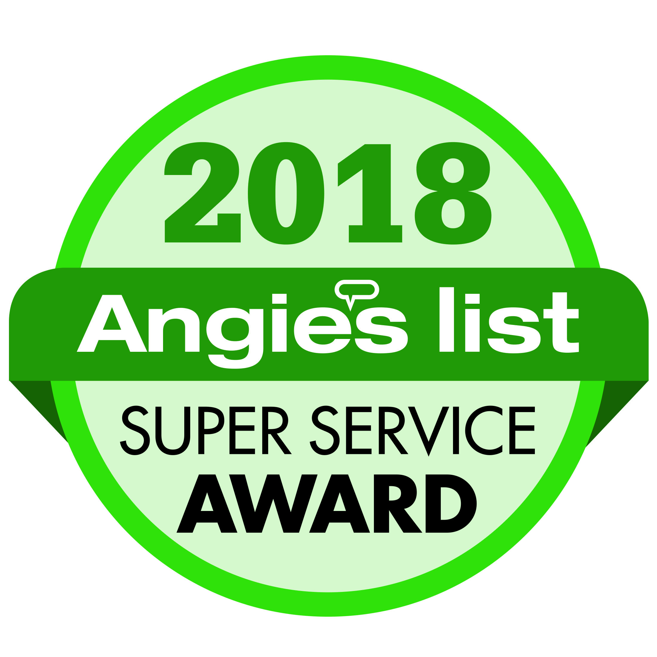 Angie's List Super Service Award: 2018
