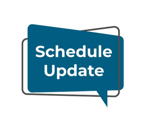Schedule Update Button